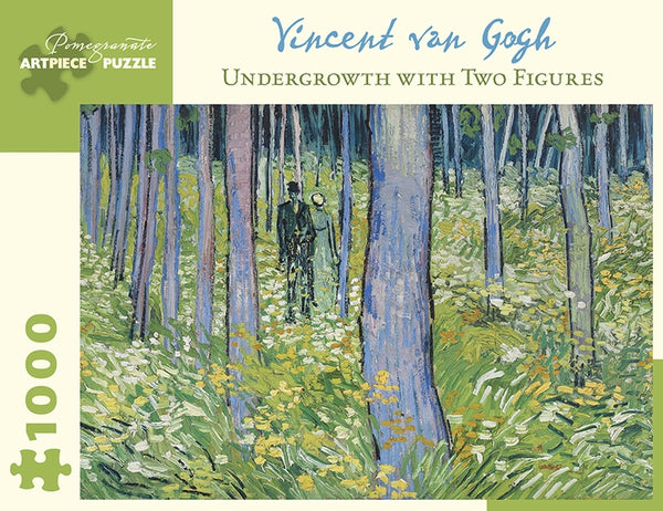 Vincent van Gogh: Undergrowth-Two Figures 1000-Piece Jigsaw Puzzle