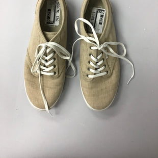 Primary Photo - BRAND: VANS STYLE: SHOES ATHLETIC COLOR: TAN SIZE: 9 OTHER INFO: AS IS SKU: 136-136163-3930
