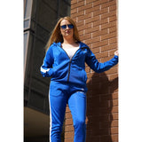 Electric Blue Tracksuit Top. - FlexActive Fitness