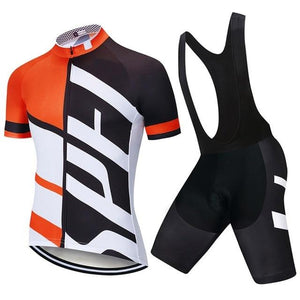 Performance Cycling Jersey & Padded Bib Tights Set - FlexActive Fitness