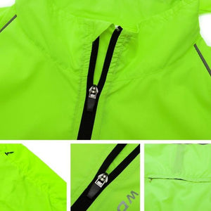 Reflective Hooded Jacket - FlexActive Fitness