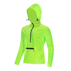 Stylish Reflective Hooded Jacket - FlexActive Fitness
