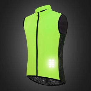 Stylish Reflective Sleeveless Jacket - FlexActive Fitness