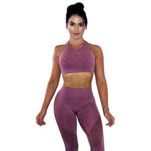 Women's Gym Wear Set - Cotton - FlexActive Fitness