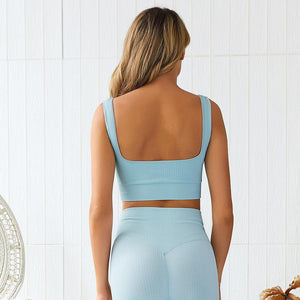 Women's Yoga Set - Blue - FlexActive Fitness