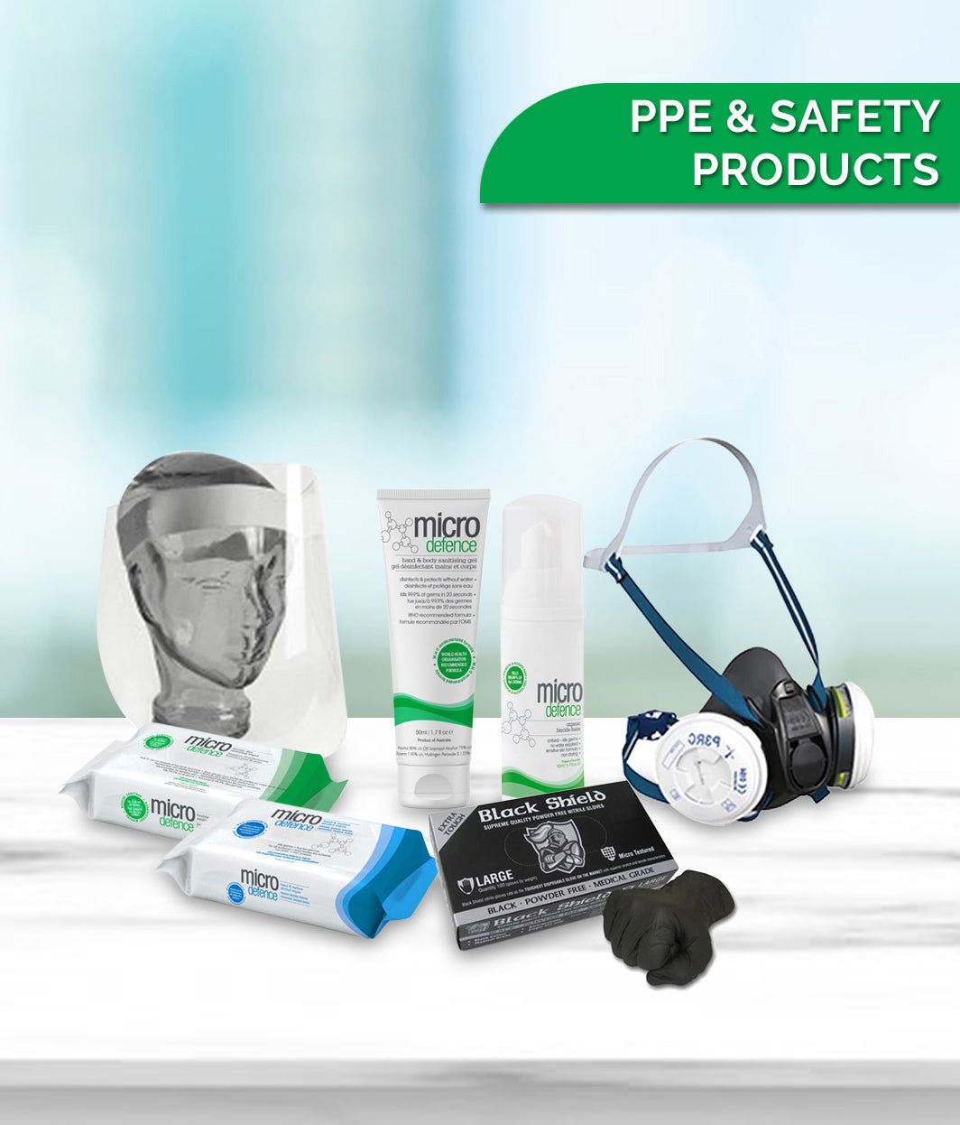 PERSONAL PROTECTIVE EQUIPMENT (PPE) & SAFETY PRODUCTS