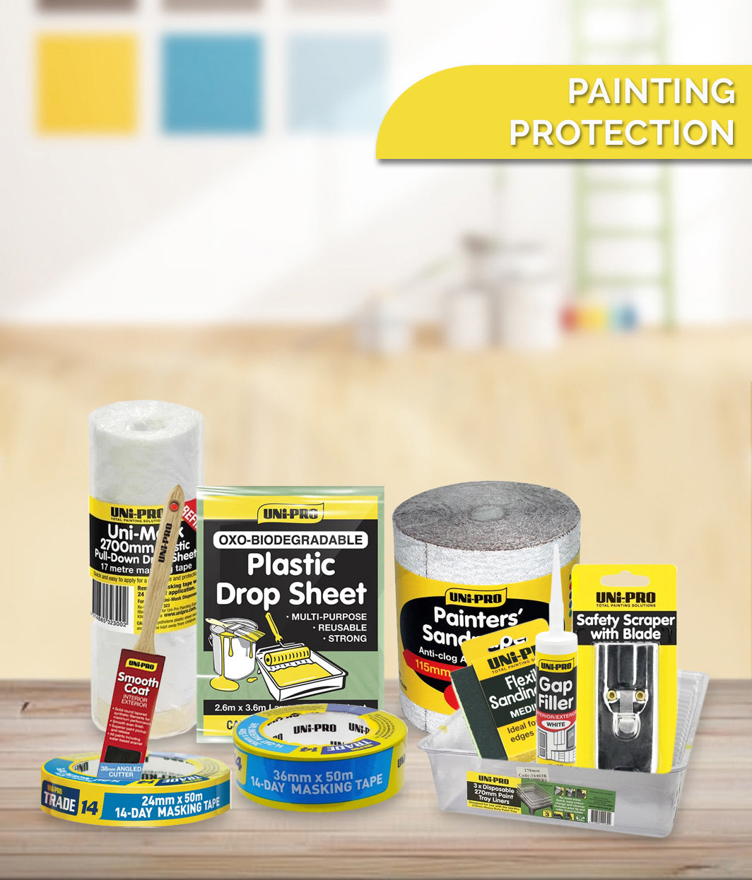 PAINTING PROTECTION & ACCESSORIES