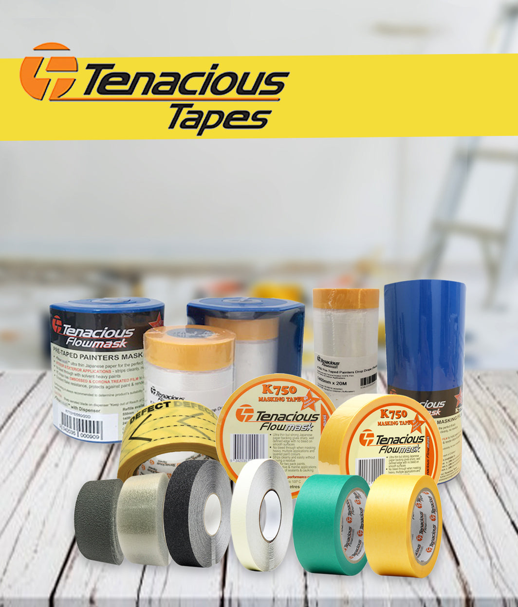 TENACIOUS SPECIALITY TAPES