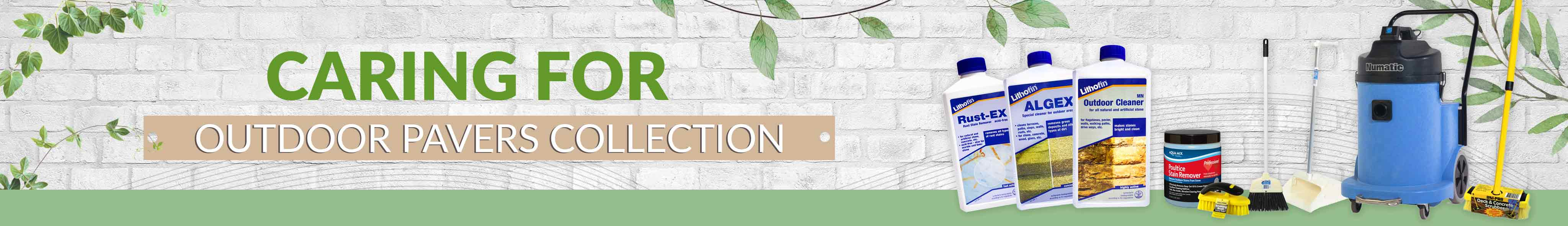 Stone Doctor Australia Bundle Promo | Caring for Outdoor paver Collection