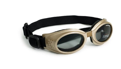 Doggles Originalz Chrome Frame/Smoke Lens, Choose a Size: Small