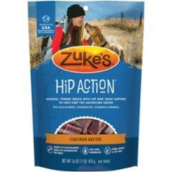Zuke's Hip Action Dog Treat, Chicken Recipe, 2-Pound. Packaging may Vary