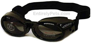 Doggles ILS Goggles Metallic Black Large