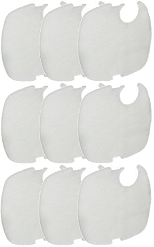 Replacement Fine Filter Pads for CF500UV Canister Filter - 9 Total Filter Pads (3 Packs with 3 per Pack)