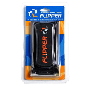 FL!PPER Flipper Standard 2-in-1 Magnetic Aquarium Tank Algae Cleaner Scrubber Scraper