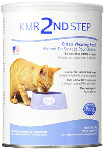 (4 Pack) Petag Kmr 2Nd Step Kitten Weaning Food 14 Ounces Each