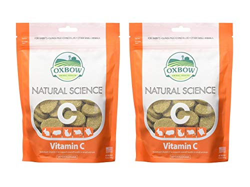 :Oxbow Natural Science Vitamin C Supplement (120 g ), 2 pack, 4.2 oz each