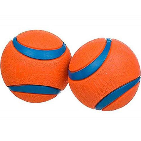 Canine Hardware Chuckit! Ultra Ball, Large, 3-Inch, 2-Pack