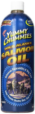 Arctic Paws 32 Ounce Yummy Chummies Salmon Oil for Dogs