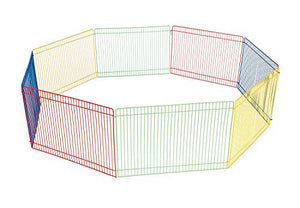 Prevue Pet Products Multi Color Small Pet Playpen