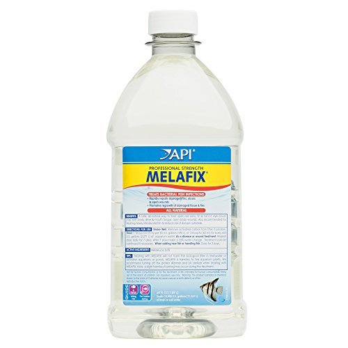 API MELAFIX Fish remedy For Bacterial Infection in Freshwater Aquarium 64-Ounce Bottle