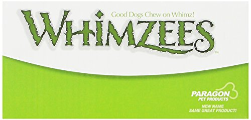 Whimzees 30-Count Box of Toothbrush Stars Dental Treats for Pets, Large