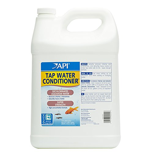 API Tap Water Conditioner Aquarium Water Conditioner 1 Gallon Bottle