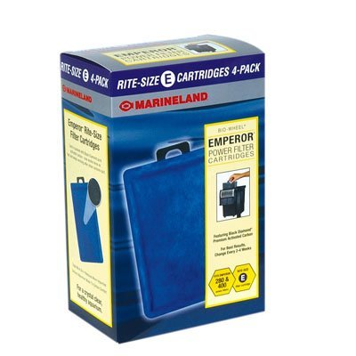 MarineLand Emperor Rite Size E Filter Cartridges 12 pack
