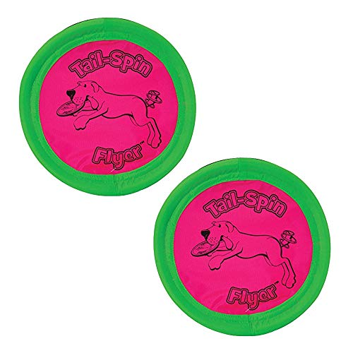 Booda Tail-Spin Flyer, 7-Inch - 2 Pack