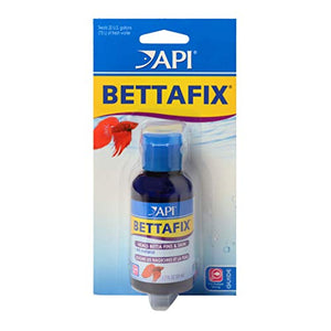 API BETTAFIX Fish remedy, For Antibacterial & Antifungal Betta Fish Infection and Fungus Remedy 1.7-Ounce Bottle