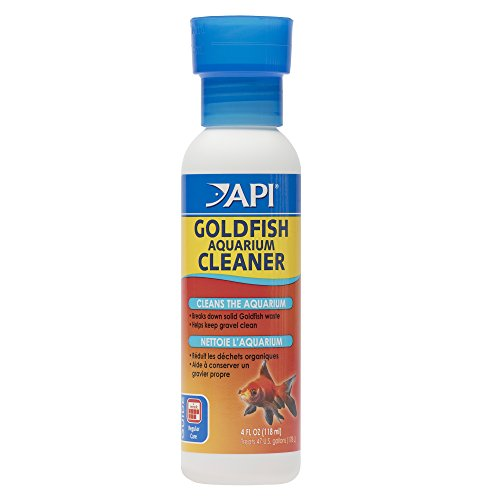 API Goldfish Products: Water Conditioner to Make tap Water Safe When Adding or Changing Water and When Adding New Fish, Aquarium Cleaner to use Weekly to Consume Sludge to Help Keep Gravel Clean