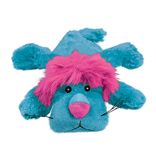 KONG - Cozie King Lion - Indoor Cuddle Squeaky Plush Dog Toy - For Medium Dogs