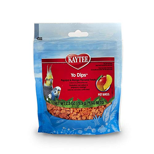Kaytee Fiesta Mango Flavored Yogured Dipped Papaya Bird Treat