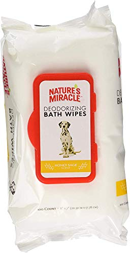 Nature's Miracle Deodorizng Spring Water Wipes