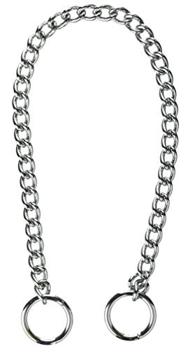Coastal Pet Products DCP553018 18-Inch Titan Heavy Chain Dog Training Choke/Collar with 3mm Link, Chrome