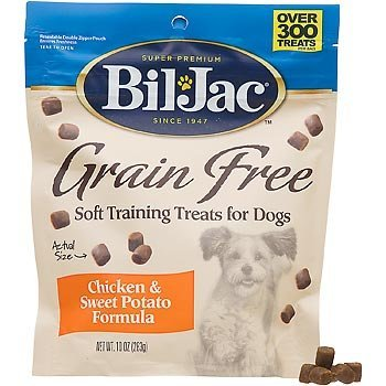 (8 Pack) Bil-Jac Grain-Free Soft Dog Training Treats, 10 Ounces Each