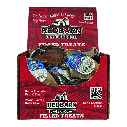 Redbarn Peanut Butter Filled Cow Hooves 1.8 Oz.