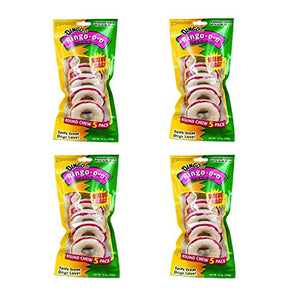 Dingo Ringo Rawhide Treats (Ringo-o-o), 20-Count