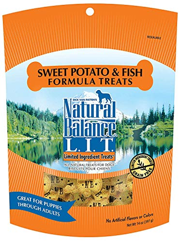 Natural Balance Limited Ingredient Dog Treats, pack of 2