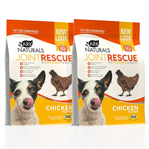 ARK NATURALS Sea Mobility Joint Rescue Bundle Pack, Chicken Flavor, Dog Joint Supplement with Glucosamine & Chondroitin, 2 Pack