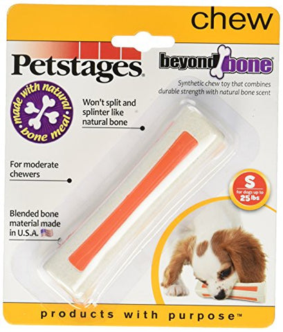 (3 Pack) Petstages Beyond Bone for Dogs Chew Toys, Small