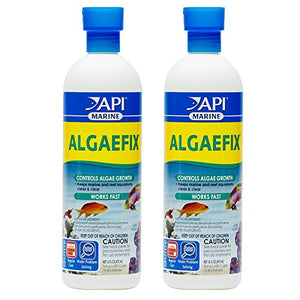 API MARINE ALGAEFIX Algae Control Solution 16-Ounce Bottle