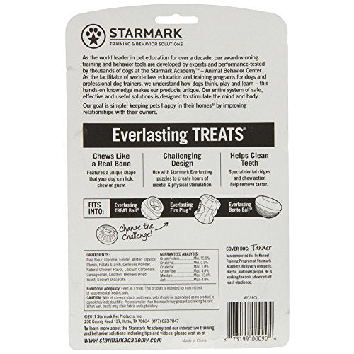 StarMark Everlasting Treat, Wheat, Corn and Soy Free, Large [2-Pack]