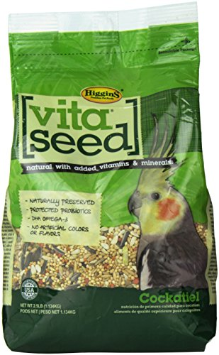 Vita Seed Cockatiel Food, 2.5 Lb.