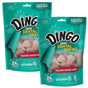 Dingo Mini Denta-Treats, 48-Pack