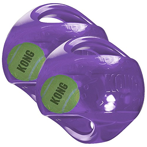 KONG Jumbler Ball Dog Toy, Large/X-Large (colors may vary) 2 Pack