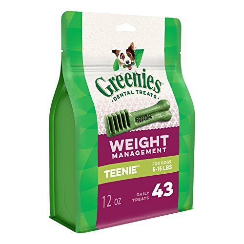 Greenies Lite Teenie Dog Dental Chew 12oz 43ct
