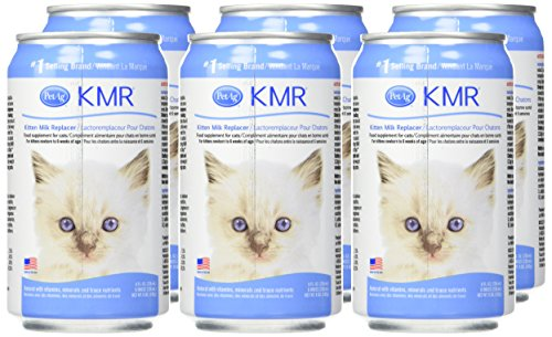 (6 Pack) Kmr Liquid Milk Replacer For Kittens And Cats - 8-Ounce Cans