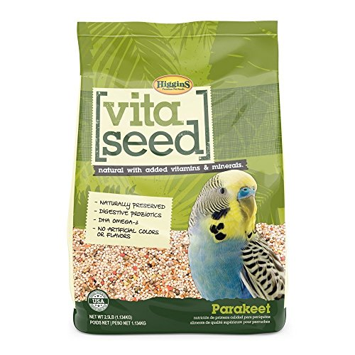 Higgins Vita Seed Parakeet Food, Large