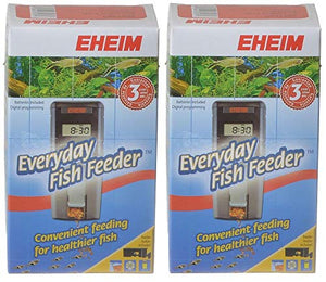Eheim Battery Operated Auto Fish Feeder 2ct (2 x 1ct)