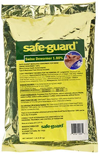 MERCK ANIMAL HEALTH MFG 184311 1 LB Safe-Guard 1.8% Swine Scoop